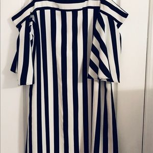 Navy & White dress